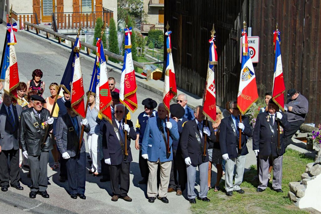 Commémoration du 24 août 1944.