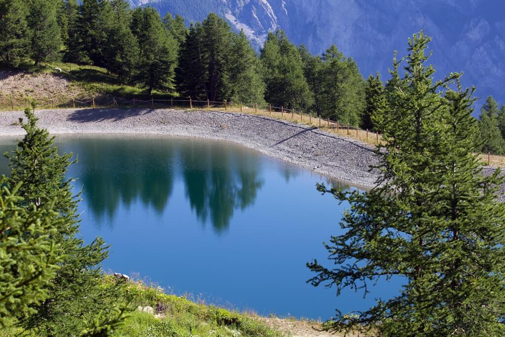 Retenue d'eau Montricher-Albanne