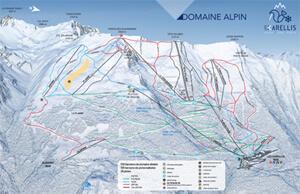 Karellis domaine alpin 1